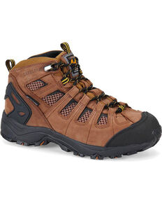 "Carolina Men's 6"" Waterproof CT 4x4 Hiker Boots, Brown, hi-res"