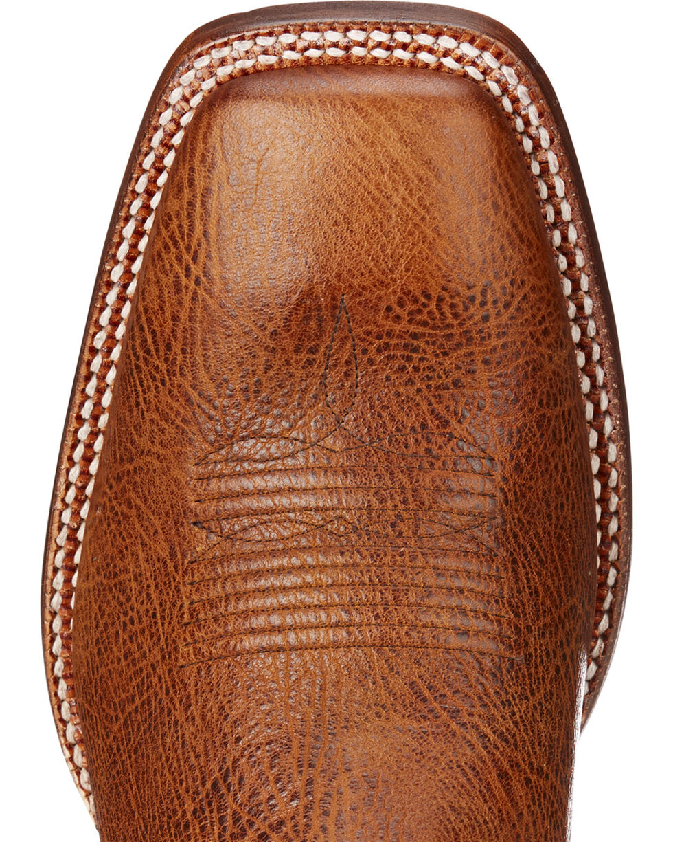 Ariat Men's Fireside Texaco Leather Boots - Square Toe , Tan, hi-res