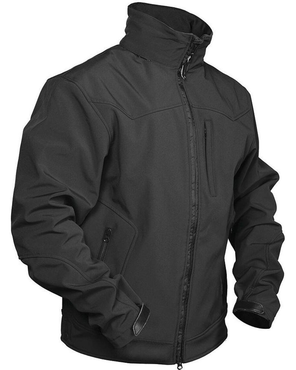STS Ranchwear Men's Young Gun Black Jacket - Big & Tall - 4XL, Black, hi-res
