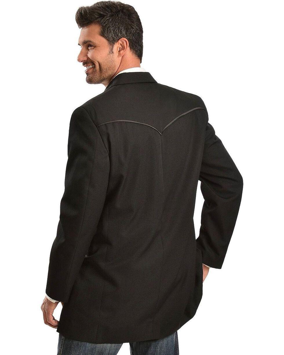 Circle S Men's Tuxedo Sport Coat - Big , Black, hi-res