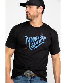 Moonshine Spirit Men's Spark Graphic T-Shirt , Black, hi-res