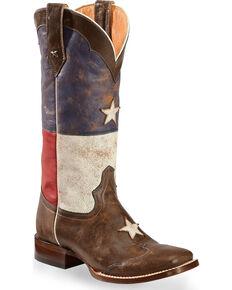 Roper Women's Star Western Boots, Brown, hi-res
