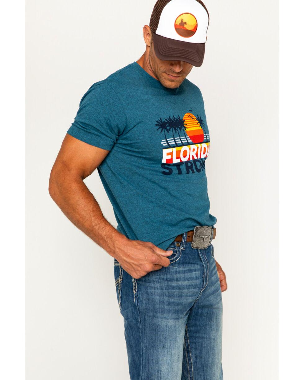 Cody James Men's Florida Strong Short Sleeve T-Shirt, Heather Blue, hi-res