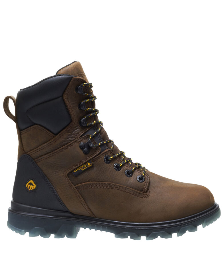 Wolverine Men's I-90 EPX Insulated Work Boots - Soft Toe, Dark Brown, hi-res