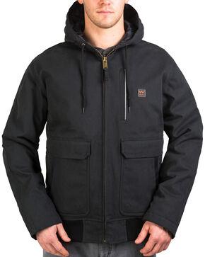 Walls Men's Blizzard Pruf Insulated Hooded Jacket, Jet Black, hi-res