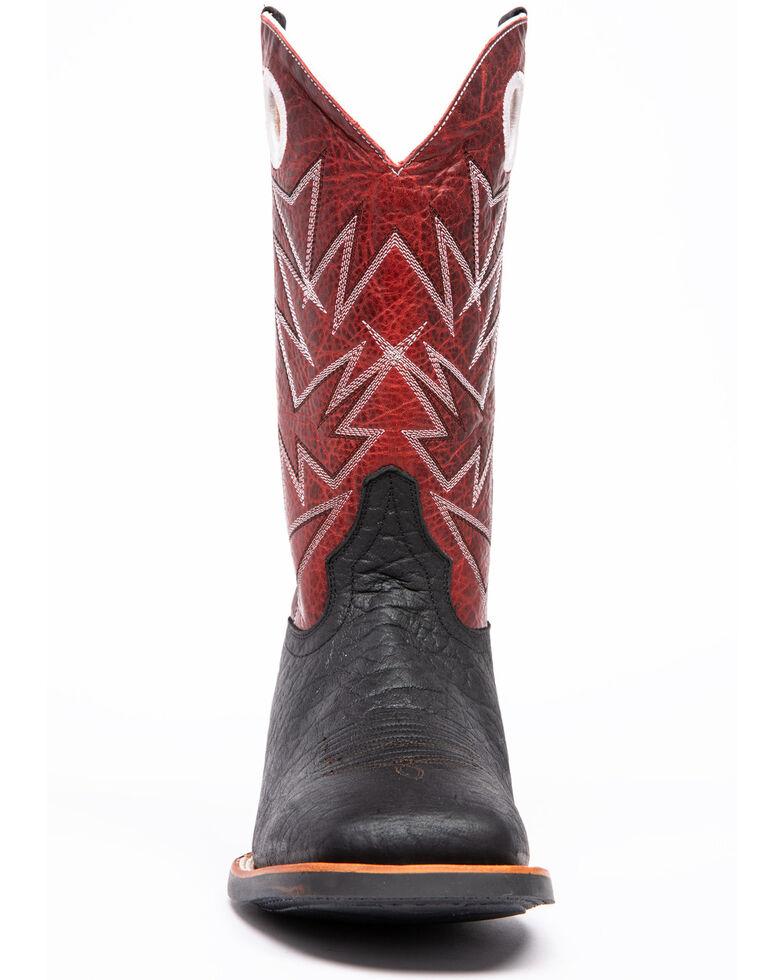 Cody James Men's Bullhide Xero Gravity Western Boots - Square Toe, Black, hi-res