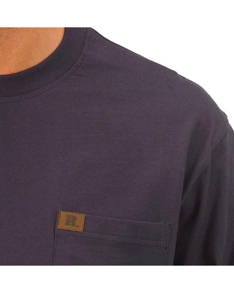 Wrangler Riggs Workwear Pocket Tee, Navy, hi-res