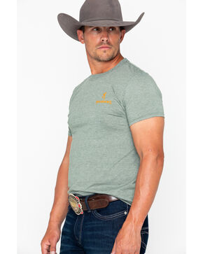 Browning Men's Patch Buckmark Graphic T-Shirt , Green, hi-res
