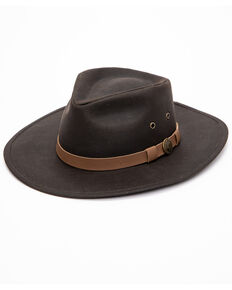 Outback Unisex Kodiak Hat, Brown, hi-res