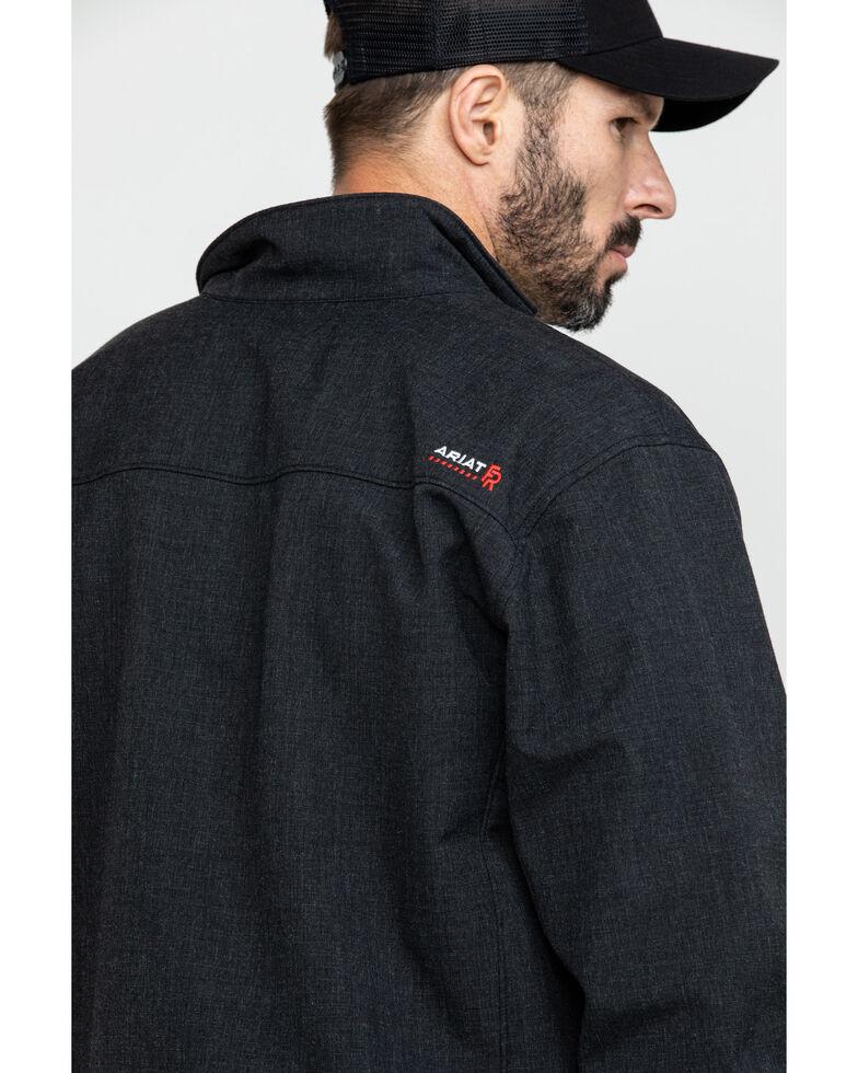 Ariat Men's Black FR Vernon Work Jacket, Black, hi-res