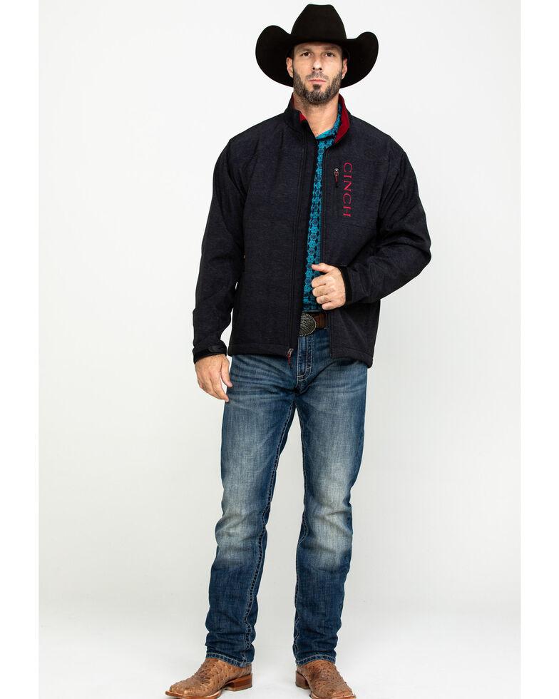 Cinch Men's Charcoal Concealed Carry Bonded Jacket , Charcoal, hi-res