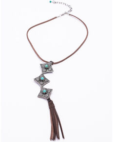 Idyllwind Women's Girl On The Move Necklace, Brown, hi-res