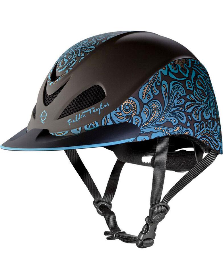 Troxel Women's Fallon Taylor Barrel Racing Helmet, Turquoise, hi-res