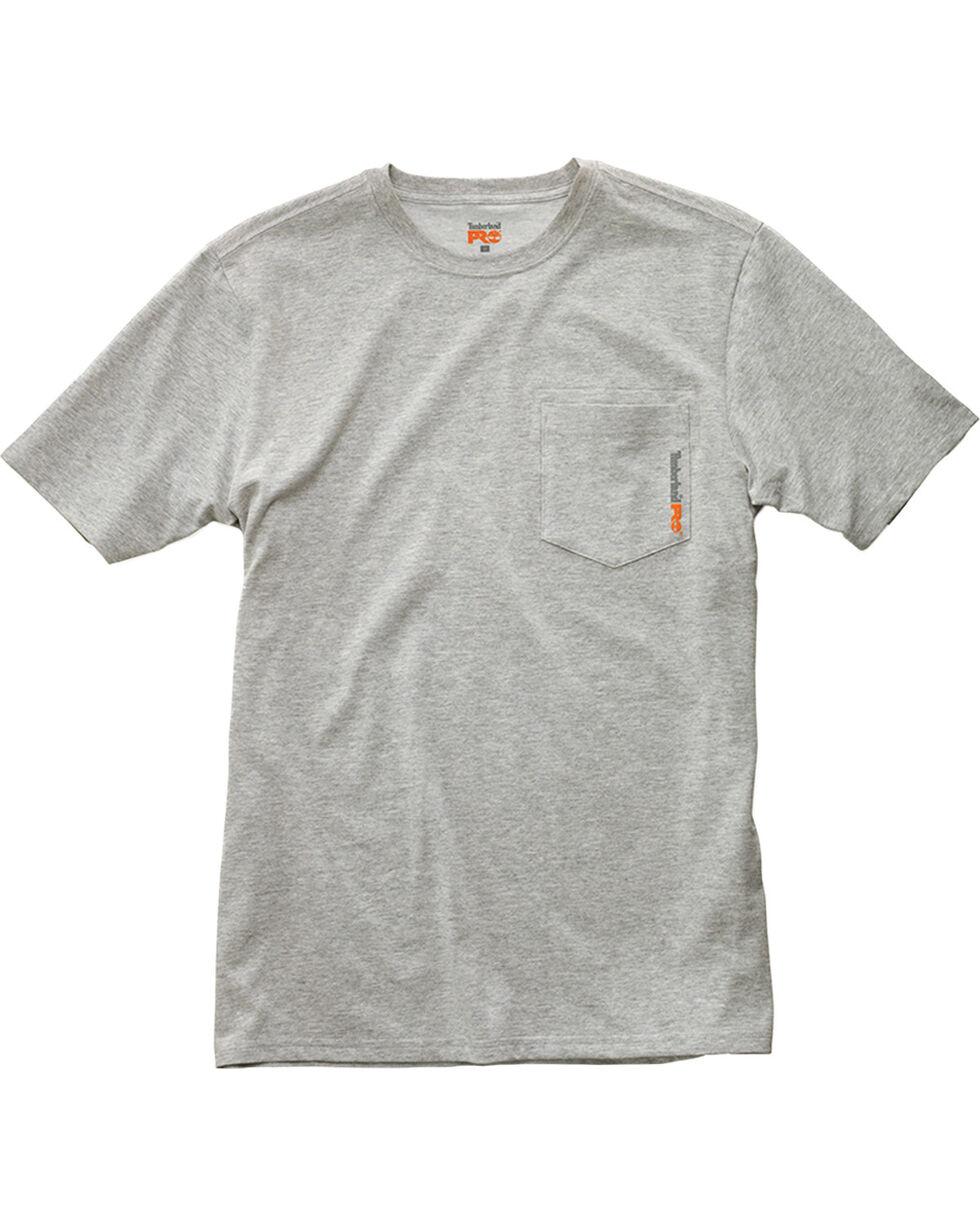 Timberland Men's Base Plate Blended T-Shirt , Light Grey, hi-res