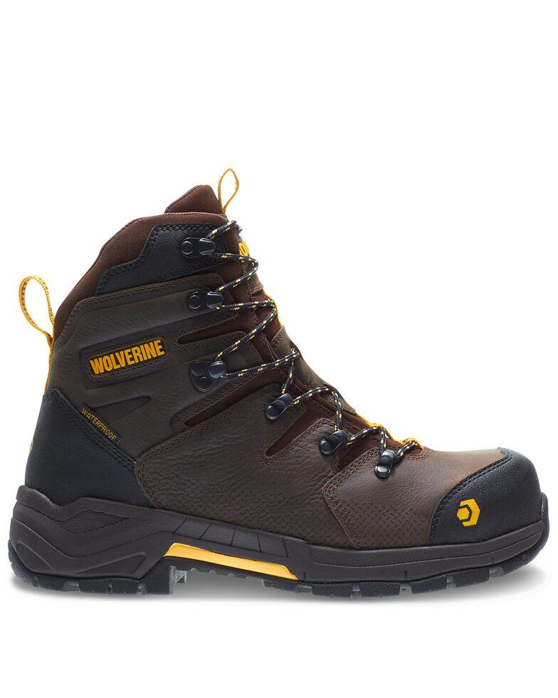 Wolverine Men's Contractor LX Work Boots - Composite Toe, Coffee, hi-res