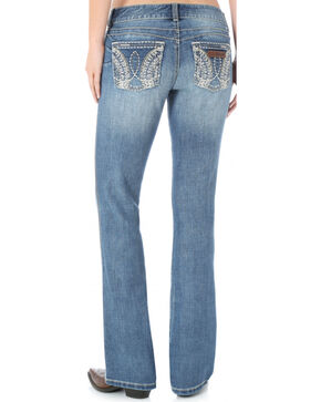 Wrangler Women's Premium Patch Booty Up Sadie Jeans, Denim, hi-res