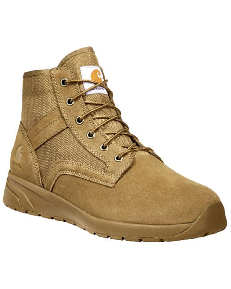 Carhartt Men's Force Sneaker Work Boots - Soft Toe, Coyote, hi-res
