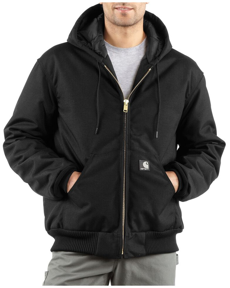 Carhartt Men's Extremes® Quilt-Lined Active Work Jacket, Black, hi-res
