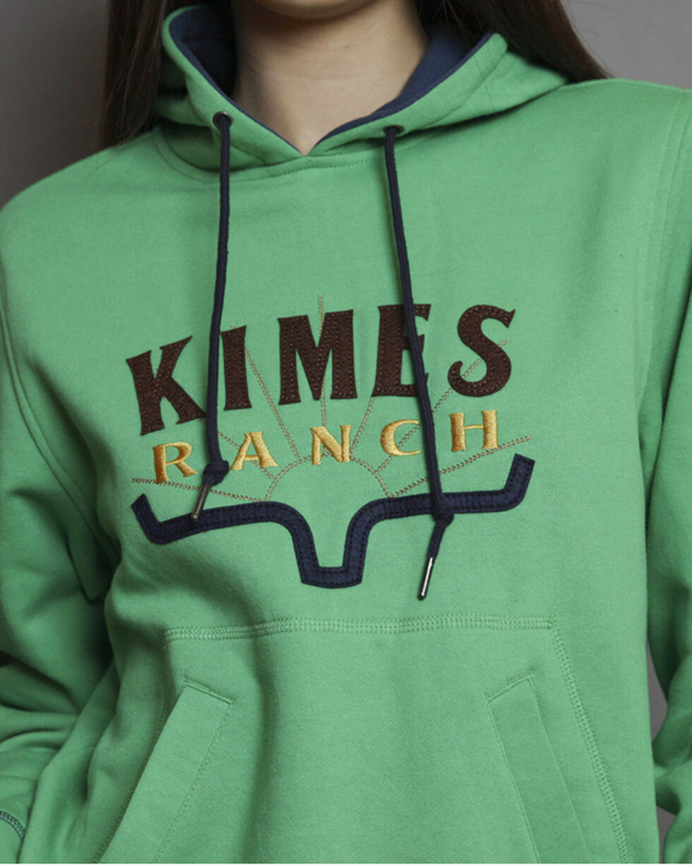 Kimes Ranch Women's Southwest Hoodie , Green, hi-res