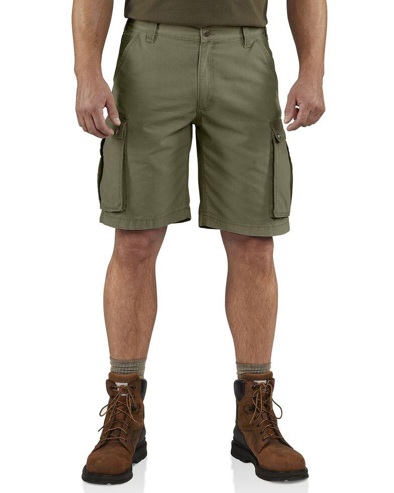 Carhartt Men's Rugged Cargo Shorts, Army, hi-res