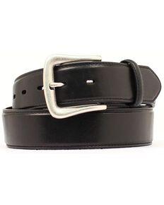 Nocona Men's Smooth Leather Western Belt, Black, hi-res