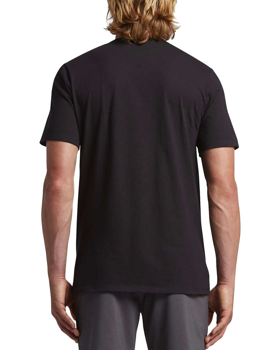 Hurley Men's One And Only Push Through T-Shirt, Black/white, hi-res