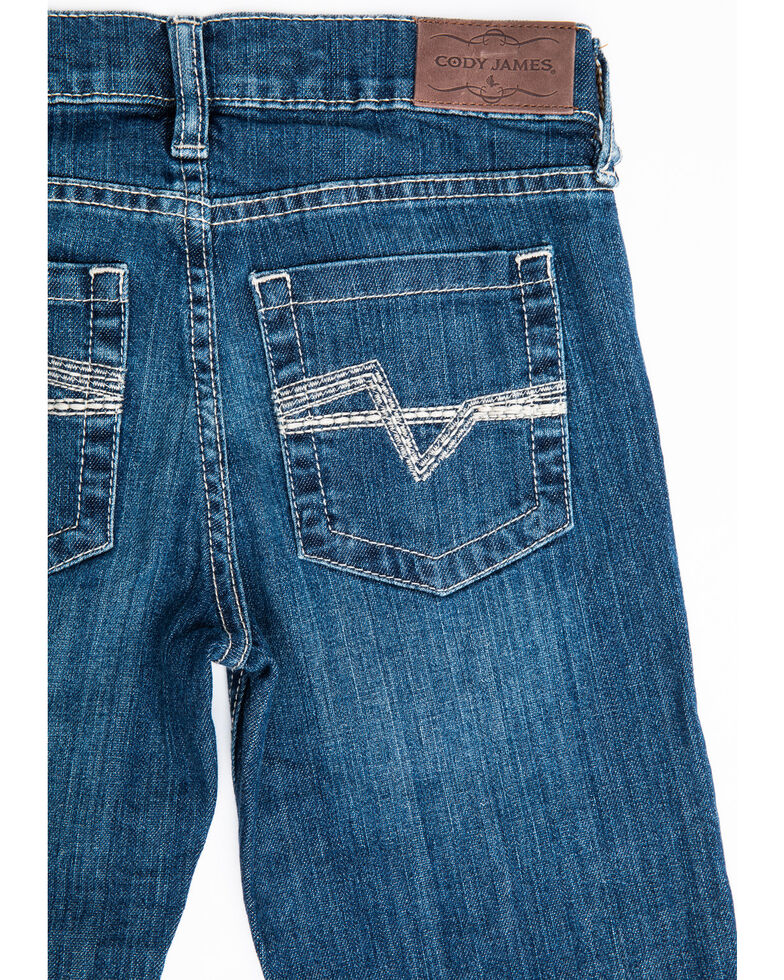Cody James Boys' 8-20 Stone Cold Stretch Slim Straight Jeans , Blue, hi-res