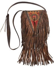 Kobler Leather Tan Painted Handbag, , hi-res