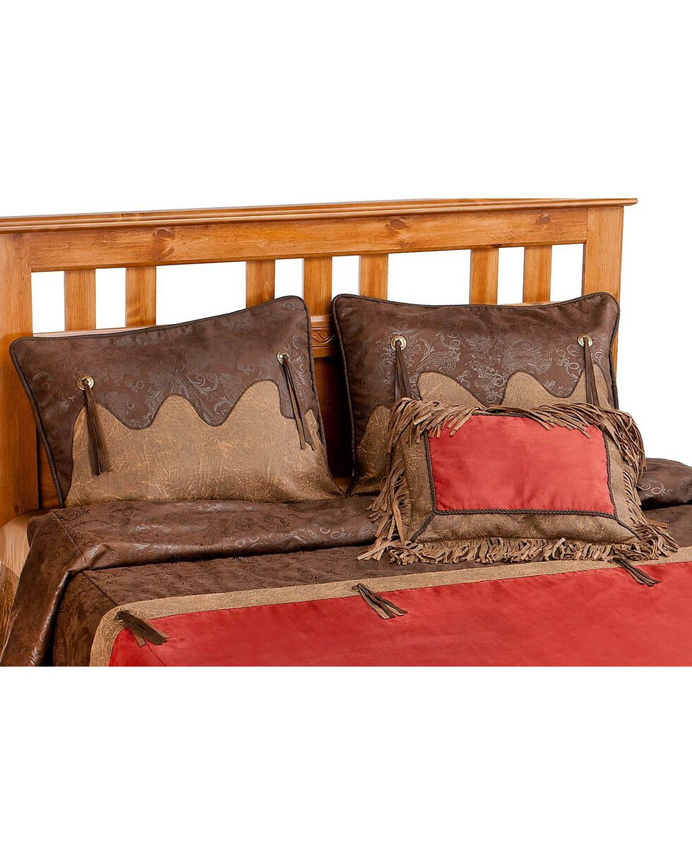 HiEnd Accents Red Rodeo Queen Comforter Set, Red, hi-res