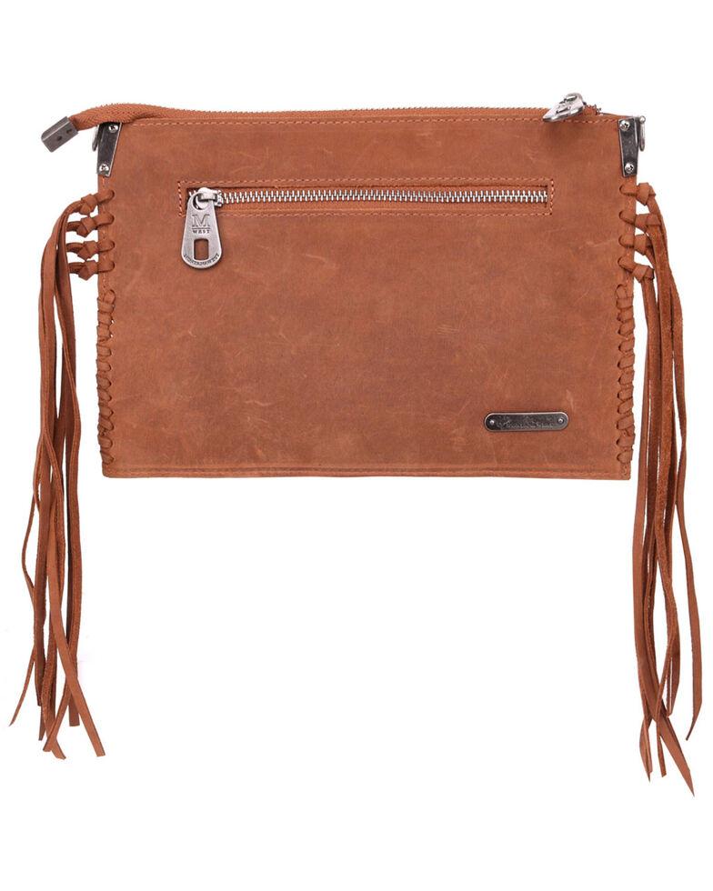 Montana West Hand Tooled Crossbody Bag, Brown, hi-res
