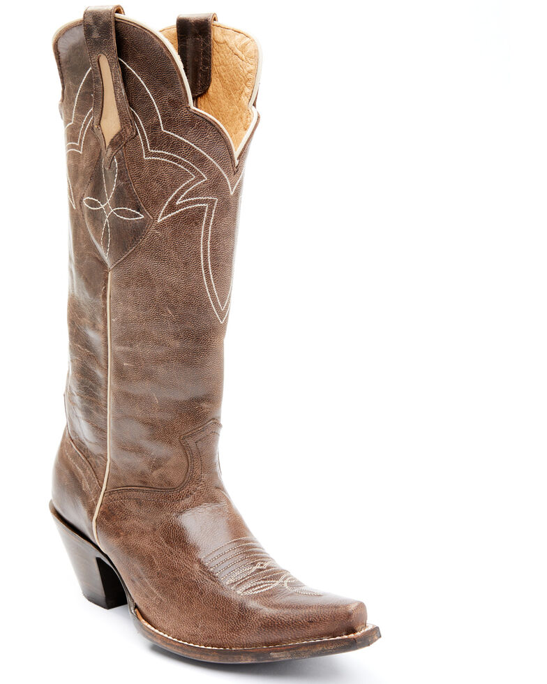 Idyllwind Women's Desperado Western Boots - Snip Toe, Brown, hi-res