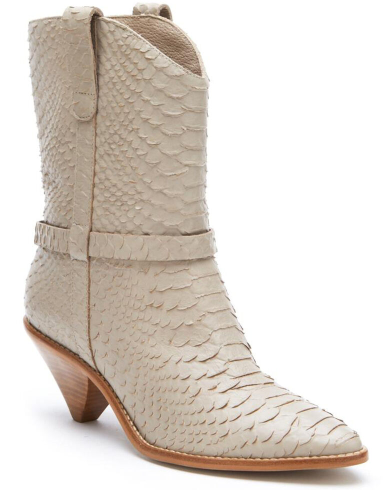 Matisse Women's Ivory Fair Lady Fashion Booties - Pointed Toe, Ivory, hi-res