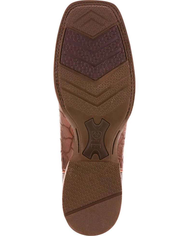 Ariat Men's Range Boss Wildhorse Chocolate Cowboy Boots - Square Toe, Chocolate, hi-res
