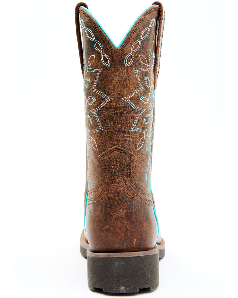 Shyanne Women's Zenith Performance Western Boots - Wide Square Toe, Brown, hi-res