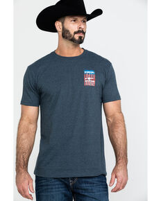 Cody James Men's Flag Rights Graphic T-Shirt , Blue, hi-res