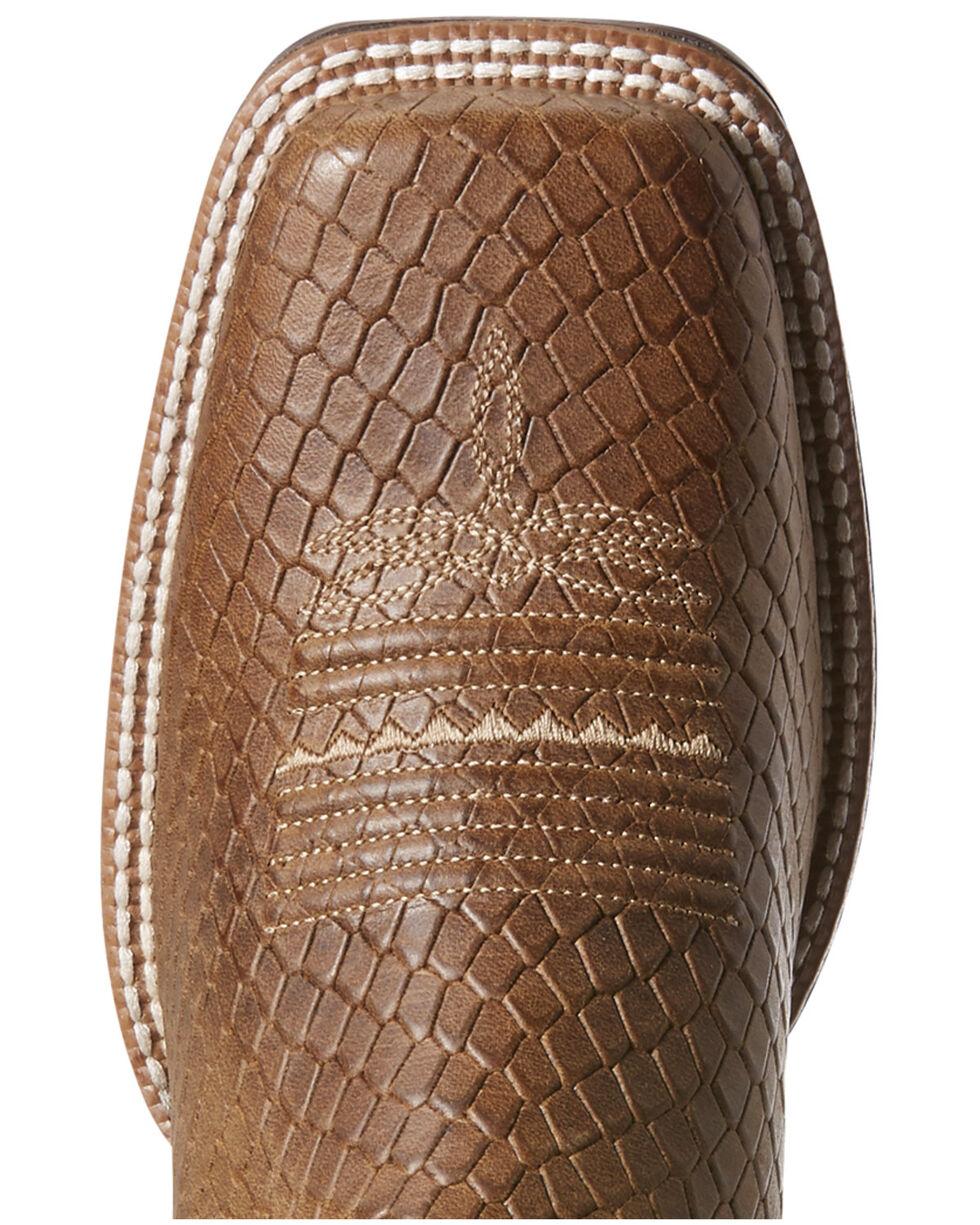Ariat Women's Primetime Hollin Western Boots - Wide Square Toe, Tan, hi-res