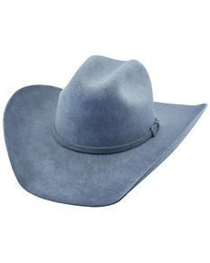 Justin Men's 6X Granite Kermit Western Felt Hat , Slate, hi-res