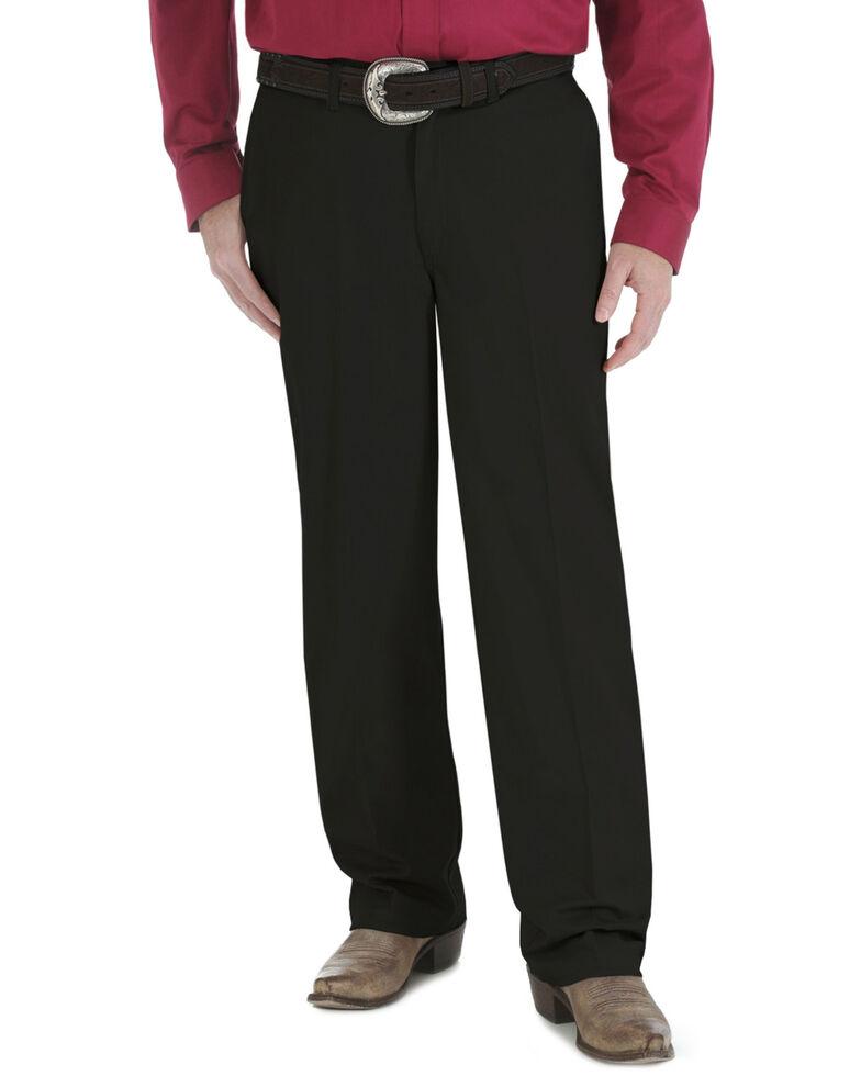 Wrangler Men's Riata Advanced Comfort Pants, Black, hi-res
