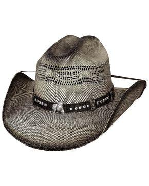 Bullhide Boys' Wheelhorse Straw Hat, Black, hi-res