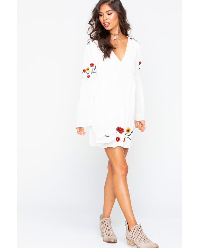 Sadie and Sage Women s Flower Embroidery Dress  44df3dc3c8