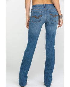 5a8a8b9924a As Real As Wrangler Women's Medium Wash Everyday Bootcut