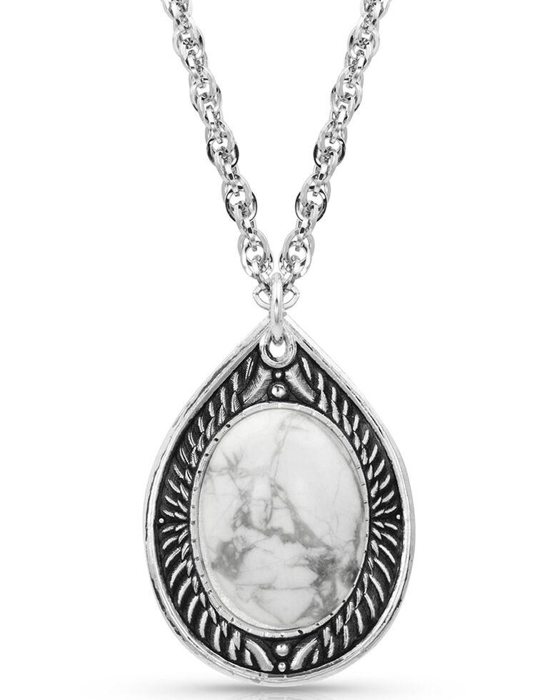 Montana Silversmiths Women's Birch Creek Necklace, Silver, hi-res