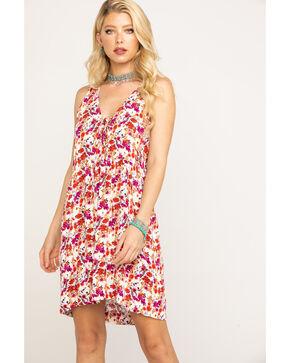 Idyllwind Women's Stoney Lace Up Dress, Ivory, hi-res
