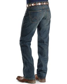Wrangler Retro Men's Slim Fit Boot Cut Jeans, Med Wash, hi-res