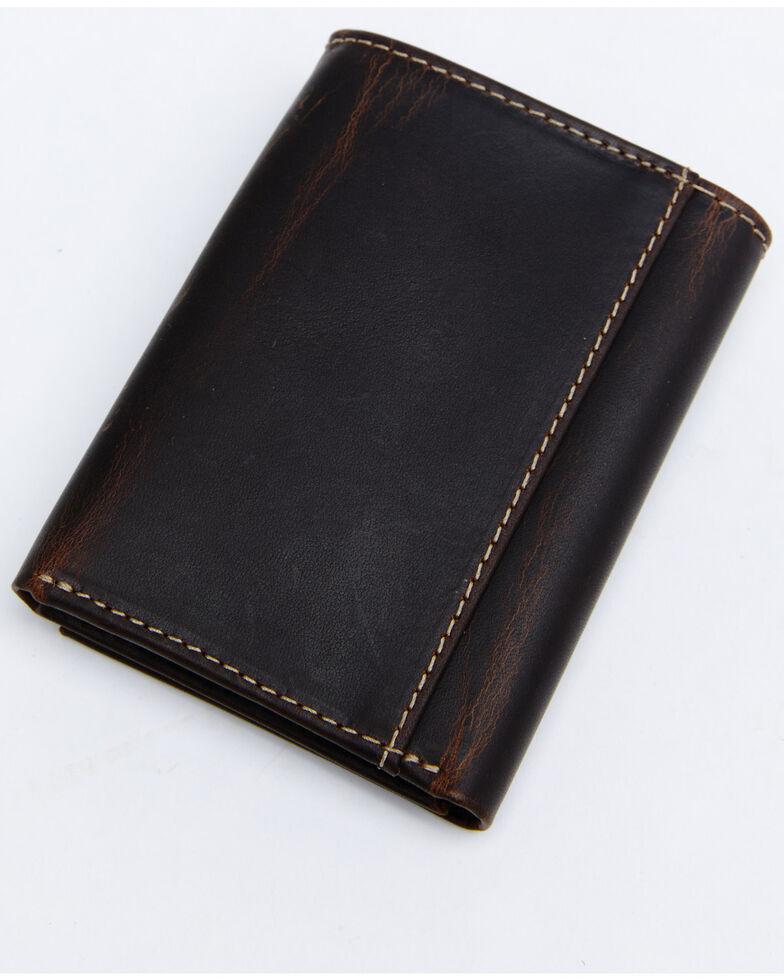 Cody James Men's Trifold Wallet, Brown, hi-res