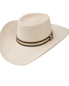 8d5834641360f Stetson Jameson Silver Belly 6x Felt Cowboy Hat