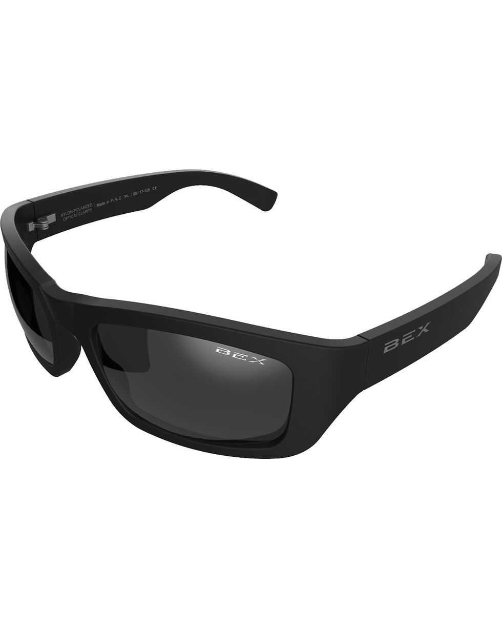 Bex Men's Ghavert Polarized Black/Grey Sunglasses, Grey, hi-res