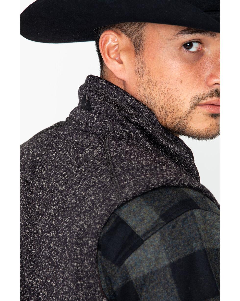 Powder River Outfitters Men's Zipper Vest, Brown, hi-res