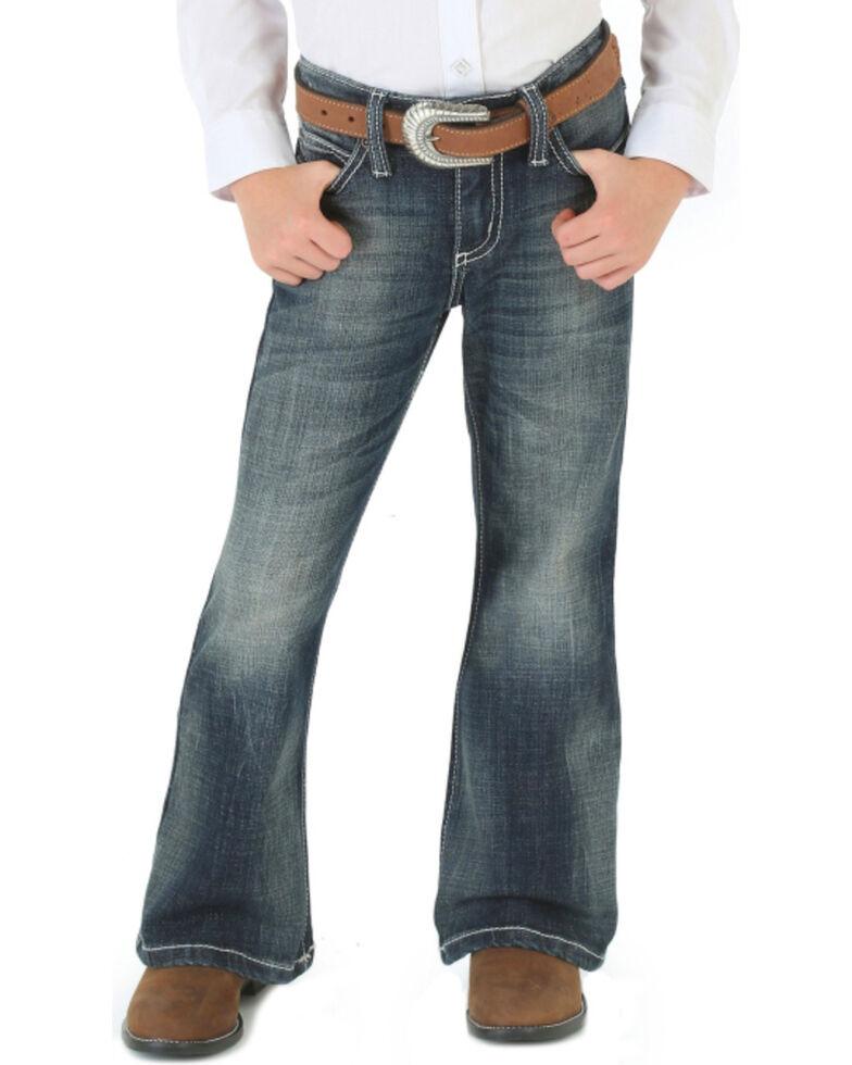 41ced1b9c4c Wrangler Girls  Dark Wash Boot Cut Jeans