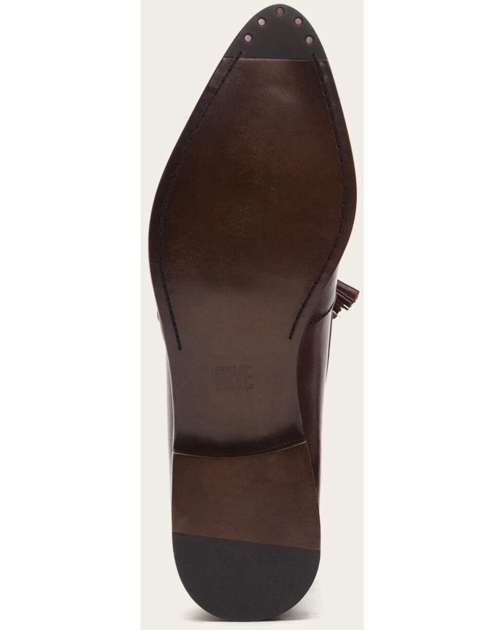 Frye Women's Erica Venetian Dark Brown Shoes - Pointed Toe , Dark Brown, hi-res